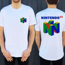 64 FRONT AND BACK WHITE TEE