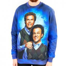 FULL PRINT STEP BROTHERS CREW