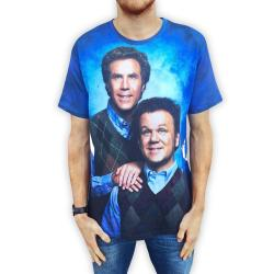 FULL PRINT STEP BROTHERS TEE
