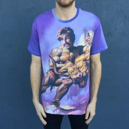 FULL PRINT BY THE HORNS TEE