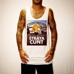 HOWARD STRAYA WHITE SINGLET
