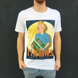 TIN TINS WHITE TEE