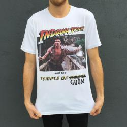 TEMPLE OF GOON WHITE TEE