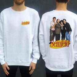 SEINFELD FRONT AND BACK CREW