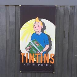 TIN TINS DOOR HANGING