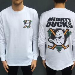 MIGHTY DUCKS LONGSLEEVE F & B TEE