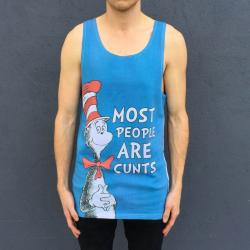 FULL PRINT PPL R CUNTS SINGLET