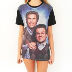 FULL PRINT XS STEP BROTHERS TEE