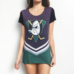 FULL PRINT DUCKS WOMENS TEE