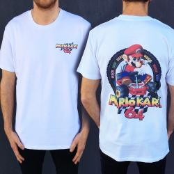KART FRONT AND BACK TEE
