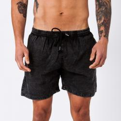 DRY ICE ACID BLACK WALK SHORTS