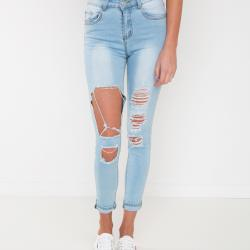 WILLOW BLUE DENIM JEANS