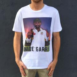 NICE GARRY WHITE TEE