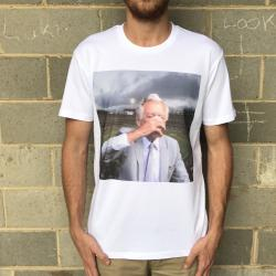 BOB FOR PM WHITE TEE