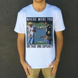 DIPSHIT WHITE TEE