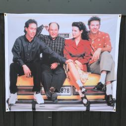 TAXI SEINFELD WALL HANGING 1150 X 1000MM