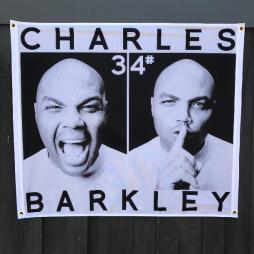 CHARLES BARKLEY WALL HANGING 1000 X 850MM