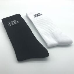 2 PACK OF SEND NUDES SOCKS