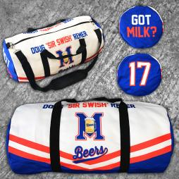 DOUG REMER BASEKETBALL DUFFLE BAG
