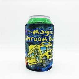 MAGIC SHROOM BUS STUBBY HOLDER