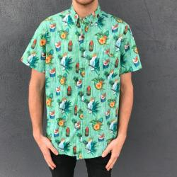 COCKATOO BUTTON UP SHIRT