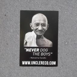 GANDHI STICKER