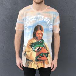 FULL PRINT JESUS FOR OUR TINS TEE