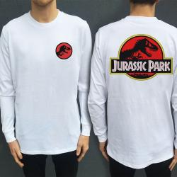 JURASSIC LONGSLEEVE FRONT AND BACK