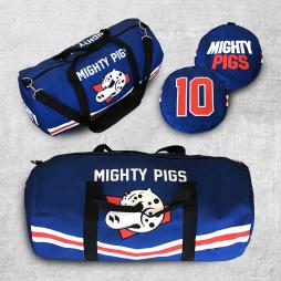 MIGHTY PIGS DUFFLE BAG