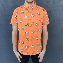 ORANGE 90S KID BUTTON UP SHIRT