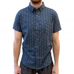 PINSTRIPE MCGREGOR BUTTON UP SHIRT