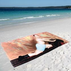 GEORGE COSTANZA XL BEACH TOWEL SF