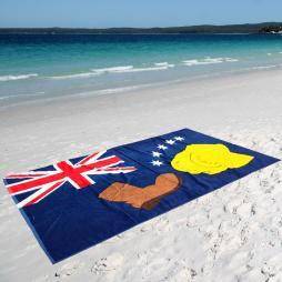 AUSTRALIAN FLAG XL BEACH TOWEL