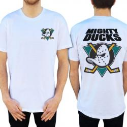 QUACK FRONT AND BACK WHITE TEE