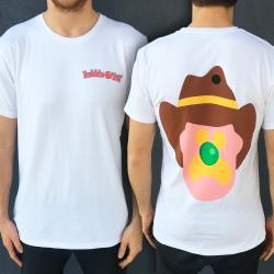 FRONT AND BACK ICE CREAM WHITE TEE