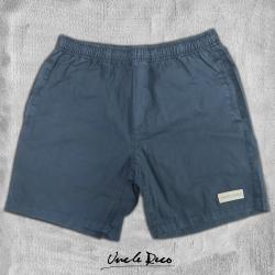 GREY STONEWASH BEACH SHORTS