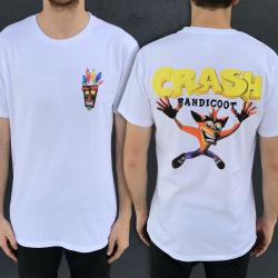 CRASH FRONT AND BACK TEE