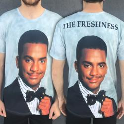 FULL PRINT THE FRESHNESS TEE