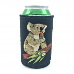 KOALA BEERS BLACK STUBBY HOLDER