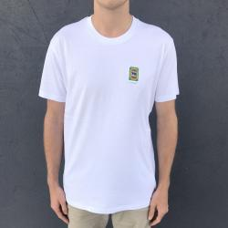 8BIT EMBROIDERED WHITE TEE