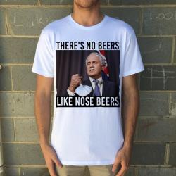 NOSE BEERS WHITE TEE