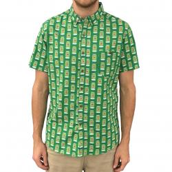 8BIT BUTTON UP SHIRT