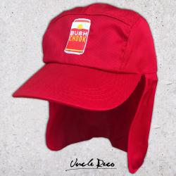 BUSH CHOOK RED LEGIONNAIRES HAT