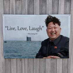 LIVE LOVE LAUGH WALL HANGING 1200 X 800MM