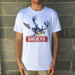 DEER LOGO WHITE TEE