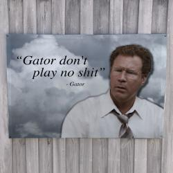 GATOR WALL HANGING 1200 X 800MM