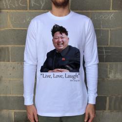 LIVE, LAUGH, LOVE LONGSLEEVE