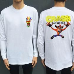 CRASH LONGSLEEVE FRONT AND BACK