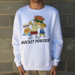 ROCKET POWDER WHITE CREW