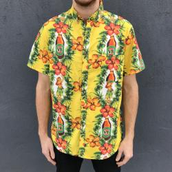 HULA BUTTON UP SHIRT